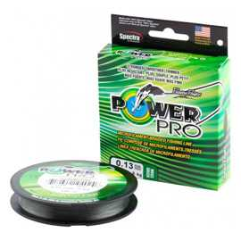 Плетеный шнур Power Pro Moss Green 0,13mm/8kg 275m