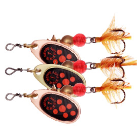 Блесна вращ. Mepps Black Fury Mouche №1 Copper/Orange